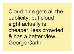 George Carlin, Cloud Computing, Cartoons, Clouds, Math, Business, Cartoon, Cartoon Movies, Math Resources