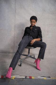 Selah Marley @ Rag & Bone Spring 2018 Ready-to-Wear Collection Photos - Vogue