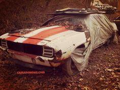 '69 Camaro Pace Car. Shame...