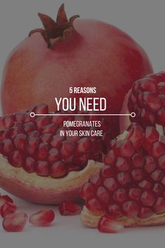 Add a zing to your routine with a dash of Pestle and Mortar introduces you to pomegranates – the skincare wonder! Beauty Tips, Beauty Hacks, Pomegranates, Skincare Routine, How To Introduce Yourself, Your Skin, Healing, Skin Care, Good Things
