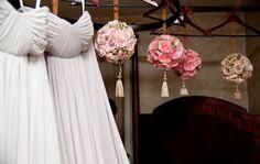 Pomander bouquets for bridesmaids  #pomander #weddingbouquets