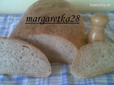 Obyčajný domáci chlieb (fotorecept) - recept | Varecha.sk Food And Drink, Bread, Baking, Jar, Basket, Brot, Bakken, Breads, Backen
