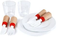 Brio Dinnerware Set BRI-30223 The Dinnerware Set is the perfect accessory for the BRIO kitchen. It includes two plates two glasses two knives and two forks. Food grade plastic on all items.... (Barcode EAN=7312350302233) http://www.MightGet.com/january-2017-12/brio-dinnerware-set-bri-30223.asp