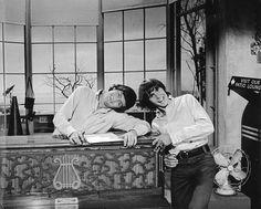 Micky Dolenz and Davy Jones