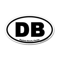 Daytona Beach sticker I had in the back window of my truck but it bleached out by the sun.  :-(