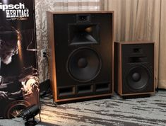 Klipsch Heritage and the Art of Pissing Off Your Neighbors Klipsch Speakers, Audiophile Speakers, Diy Speakers, Hifi Audio, Stereo Speakers, Minding My Own Business, Audio Room, Dj Booth, Secret Rooms