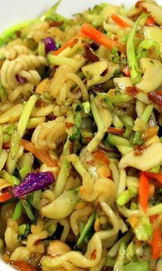 Ramen Noodle Broccoli Cole Slaw