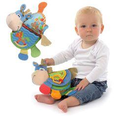 Bayi hewan buku kain lembut tenang toys pengembangan buku buku mainan pendidikan toys untuk anak-anak berlangsung lf131