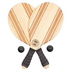Let The Games BeginThe Professional Beach Bats are beautifully lacquered bamboo featuring rubberized grips for beautiful handling. These Professional Beach Bats Beach Bag Essentials, Water House, Sunnylife, Pool Accessories, Beach Bungalows, Free Day, Venice Beach, Dot And Bo, Travel Style
