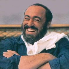 ''One of the very nicest things about life is the way we must regularly stop whatever it is we are doing and devote our attention to eating'' - Luciano Pavarotti. For the 1988 Metropolitan Opera Cook Book (worth buying for. Antonio Salieri, Claudio Monteverdi, Cavalleria Rusticana, The Lone Ranger, People Of Interest, Opera Singers, Just Smile, Music Stuff, Role Models