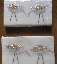 Bird Crafts, Resin Crafts, Resin Art, Beach Crafts, Broken Glass Art, Shattered Glass, Fused Glass Plates, Glass Ceramic, Sea Glass Crafts