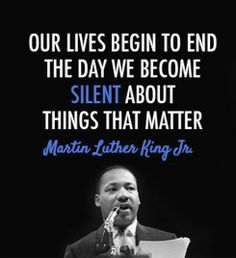 How MLK's famous quotes play a role in the fight to keep children protected from sexual abuse.