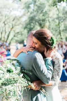 Outdoor Wedding Ceremony - Wedding Party   Maria Rão Photography   Outdoor Destination Wedding   Luz Houses Portugal Venue   Green Colour Scheme   UHMA Store Wedding Dress