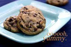 Chocolate Chip Cookies with Coconut Oil.