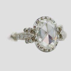Diamond Frank Cushion 0.80 Ct Genuine Diamond Ring Real 14k Yellow Gold Rings Size K J M P.5