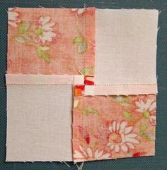 An excellent tutorial on how to reduce seam allowance bulk when piecing.