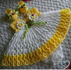 Ideas Crochet Baby Girl Items Yarns For 2019 Crochet Princess, Baby Girl Crochet, Crochet Baby Clothes, Crochet For Kids, Crochet Crafts, Crochet Projects, Diy Crafts, Baby Patterns, Crochet Patterns