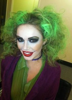10 best joker costumes images on pinterest cosplay costumes ultimate lady joker halloween costume grassy knoll institute solutioingenieria Gallery