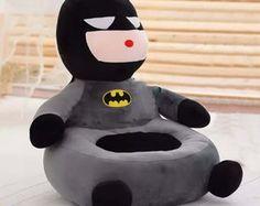 Puff Infantil Batman Pelúcia