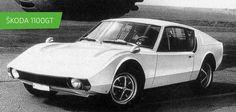 SKODA 1100 GT #SKODA #SkodaStory Classic European Cars, Classic Cars, Luxury Rv, Subaru Cars, Sport Cars, Motor Car, Concept Cars, Vintage Cars, Techno