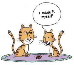 Cat-toon! - MyThreeCats.com CatBlog