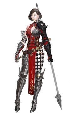 Woman with spear fantasy art d&d Female Character Concept, Fantasy Character Design, Character Inspiration, Character Art, Character Design Sketches, Character Design Cartoon, Character Illustration, 3d Fantasy, Fantasy Armor