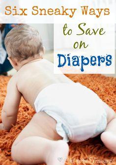 Got a baby in diapers or are you expecting a baby? Check out these sneak tips to save money on diapers.