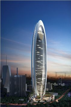 Beautiful Skyscraper Set to be Kenyas Tallest Building [PHOTOS] Futuristic Architecture, Beautiful Architecture, Architecture Design, Amazing Buildings, Modern Buildings, Future Buildings, Big Building, Tower Design, Dream House Exterior