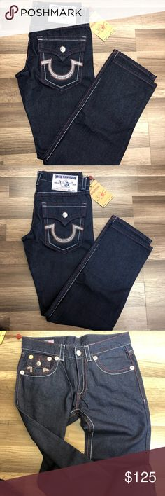 Men's Denim True Religion Jeans Men's True Religion Denim Jeans Sizes 30 and 32 True Religion Jeans Straight