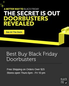 Best Buy Black Friday Doorbusters Selling Out Fast