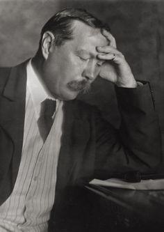 Arthur Conan Doyle.  England, 1912