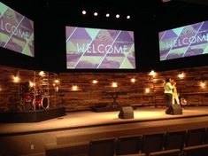 Re-purposed Wood Pallets for Church Worship Stage                                                                                                                                                                                 More