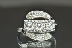 1 Carat Vintage Diamond Ring, $1200.00