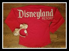 ***This just in Free Mystery Gift of our choice Included with Every Purchase Of this Pom Pom Spirit Jersey*** You dont want to miss out, our Gifts are magical..... DISNEYLAND Resort OVERSIZED SPIRIT JERSEY. Price is set for Spirit Top ONLY. Do you love the shirt but want