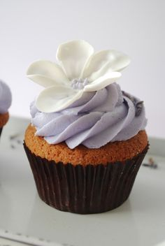 Lavender Earl Gray Cupcakes.. These are delicious!!! I've made a similar recipe from cooking light.
