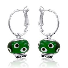 Davinci Beads Earrings $12.99  Switch out the beads each day to match your style!
