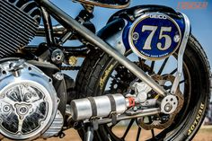 roland sands design INDIAN | Roland Sands Geico Chief Flat Tracker | Motorcycle Cruiser