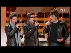 A medley of songs sung by these 3 Italian teens who met about 3 yrs. ago. This is an Italian show and the video is longer ca. 17 min. and includes 5 songs. (Better than the Am.Idol vid).