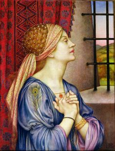 The Prisoner Artist: Evelyn De Morgan