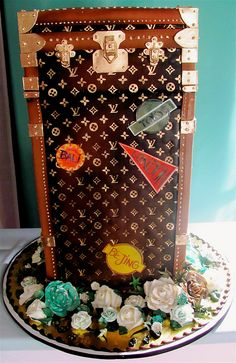 Louis Vuitton Tower of Power Cake! Magnificent!