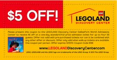legoland kansas city | Family eGuide offers a $5 coupon off the price of admission. Offer ...