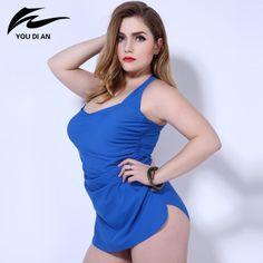 edf3048eeea 21.15  Buy here - 2016 One Piece Swimsuit bandage Plus Size one piece  Swimwear Sexy