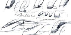Bombardier product identity by davidgordonltd Industrial Design Sketch, Transportation Design, Clean Design, Exterior Design, Identity, Branding, Train, Technology, Sketches