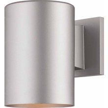 """View the Volume Lighting V9625 1 Light 7.25"""" Height Outdoor Wall Sconce with Metal Shade at LightingDirect.com."""