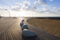 tel aviv port public space regeneration project by mayslits kassif architects. ISRAEL.