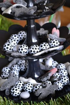 Soccer Party centerpiece