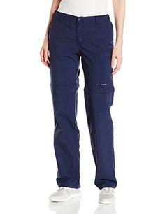 Columbia Women's Aruba Convertible Pant, Collegiate Navy, Medium  Special Offer: $55.00  188 Reviews We fine-tuned the fit on these sweat-wicking, amphibious pants to be more comfortable and flattering-but you can count on the same soft yet lightweight UPF 30 nylon fabric and...