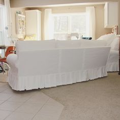 Drop Cloth Slipcover, Slipcovers, Storage Chest, Two By Two, Upholstery, Chairs, Sofa, Cabinet, Button