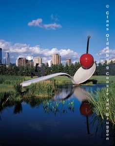 Spoonbridge and Cherry sculpture, Minneapolis, MN