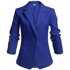 Meaneor Women's Long Sleeve Peaked Collar Work Candy Color Cropped Smart Blazer (XXL, Dark Blue) Meaneor http://www.amazon.com/dp/B0146ODMZ0/ref=cm_sw_r_pi_dp_ZhySwb0KANVP6